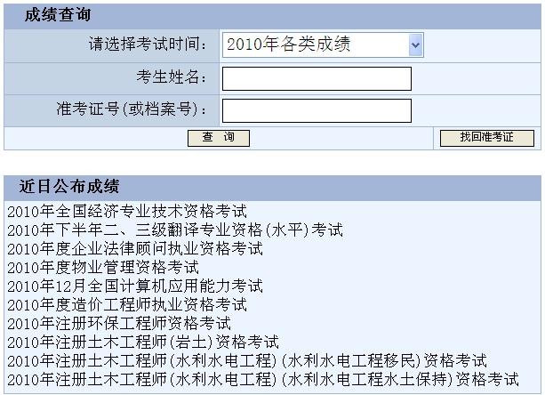 2019年經濟師查成績_北京2012年經濟師考試成績查詢開始 進入查分
